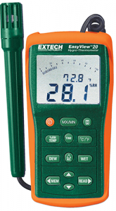 Extech EA20: EasyView™ Hygro-Thermometer